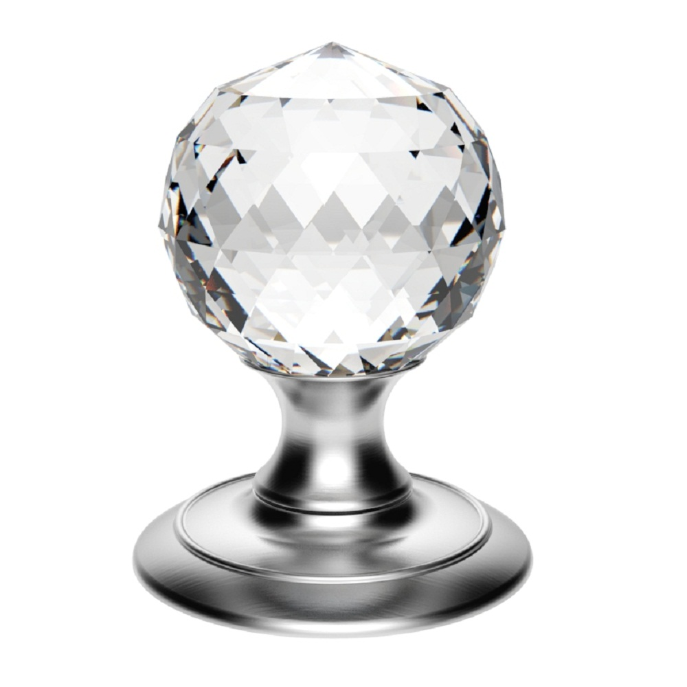 Ice Facetted Crystal Knob Ice Crystal Door Knobs