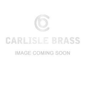 Calla Lever on Round Rose in Satin Chrome