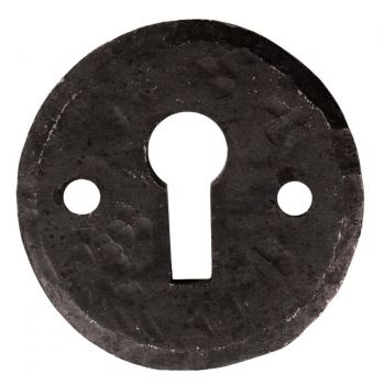 Hand Forged Beeswax Escutcheon (Open)