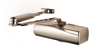 Plated Full Cover Overhead Door Closer PNP