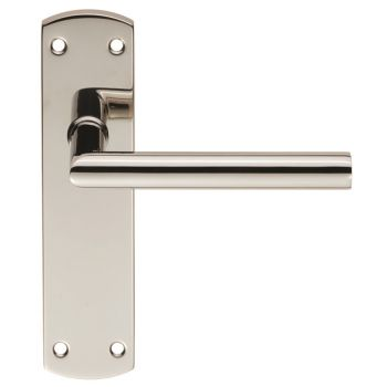Steelworx Residential Mitred Lever on Latch Backplate