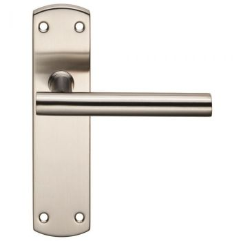 Steelworx Residential T Bar Lever on Latch Backplate