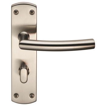 Steelworx Residential Arched Lever on WC Backplate
