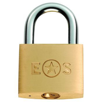 Standard Shackle Brass Padlock