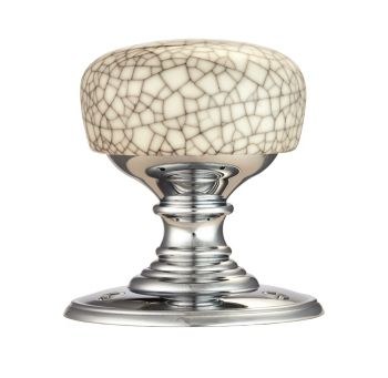 Delamain Porcelain Knob Midnight Crackle