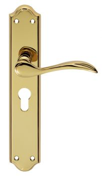 Madrid Lever on Euro Lock Long Backplate