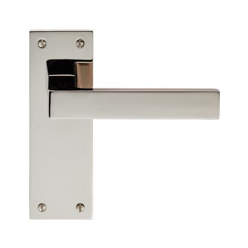 Sasso Lever on Backplate Latch
