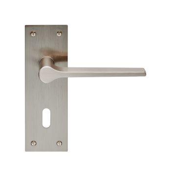 Velino Lever on Backplate Lock 57mm