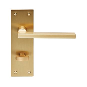 Trentino Lever on Backplate Bathroom 57mm