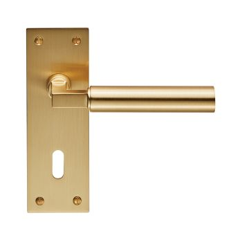 Amiata Lever on Backplate Lock 57mm