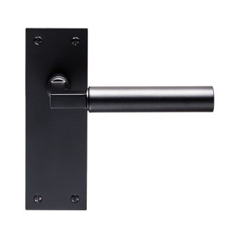 Amiata Lever on Backplate Latch