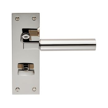 Amiata Lever on Backplate Bathroom 57mm