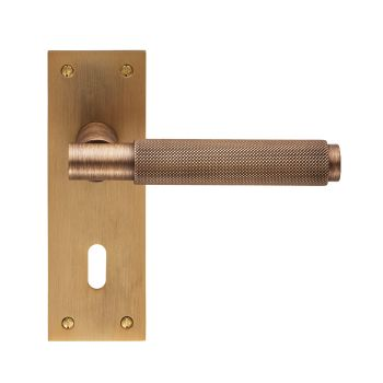 Varese Lever on Backplate Lock 57mm