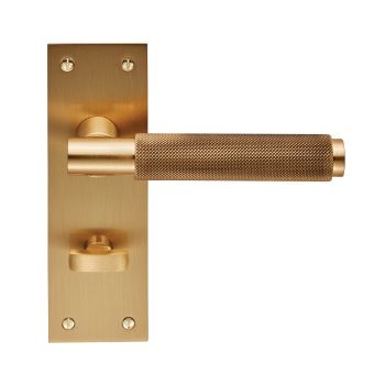 Varese Lever on Backplate Bathroom 57mm
