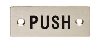 Push Symbol Sign