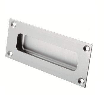 Aluminium Rectangular Flush Pull
