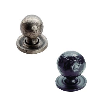 Hammered Pattern Ball Knob