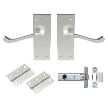 Contract Victorian Scroll Latch Pack