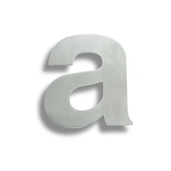Stainless Steel Letters (Letter A)