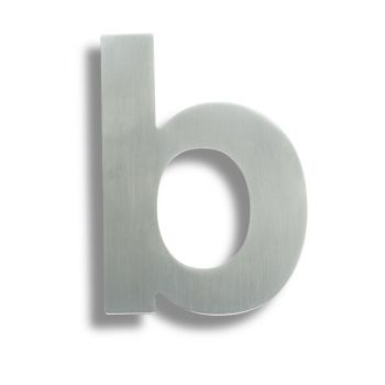 Stainless Steel Letters (Letter B)