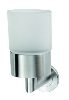 Stainless Steel Single Tumbler and Holder
