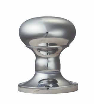 Mushroom Mortice Knob (Unsprung)