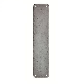 Hand Forged Pewter Push Plate