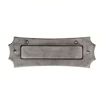 Hand Forged Pewter Letter Plate