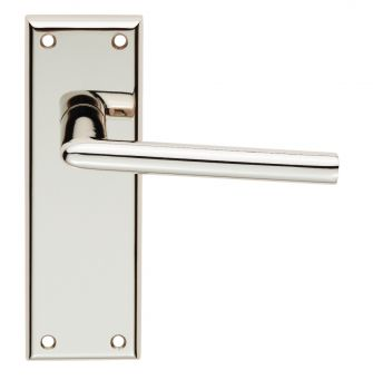 Serozzetta Dieci Lever on Latch Backplate
