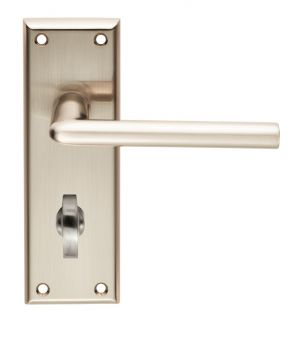 Serozzetta Dieci Lever on Bathroom Backplate