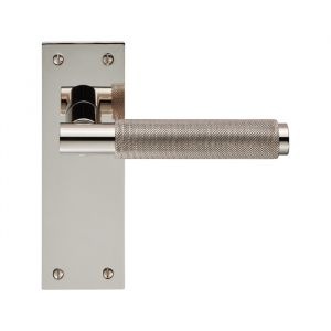 Varese Lever on Backplate Latch