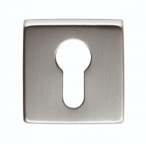 Square Euro Profile Escutcheon
