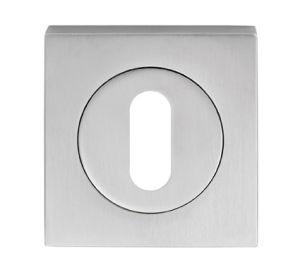Serozzetta Square Standard Lock Profile Escutcheon