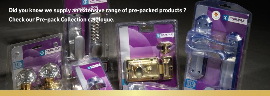 Prepack Range