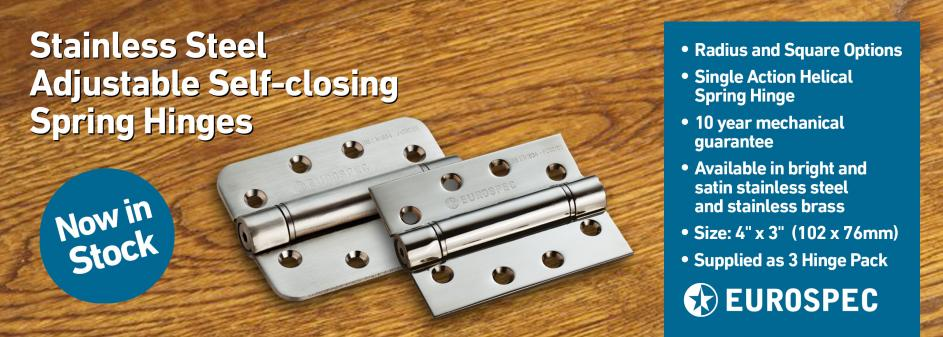 New Stainless Steel Spring Hinge