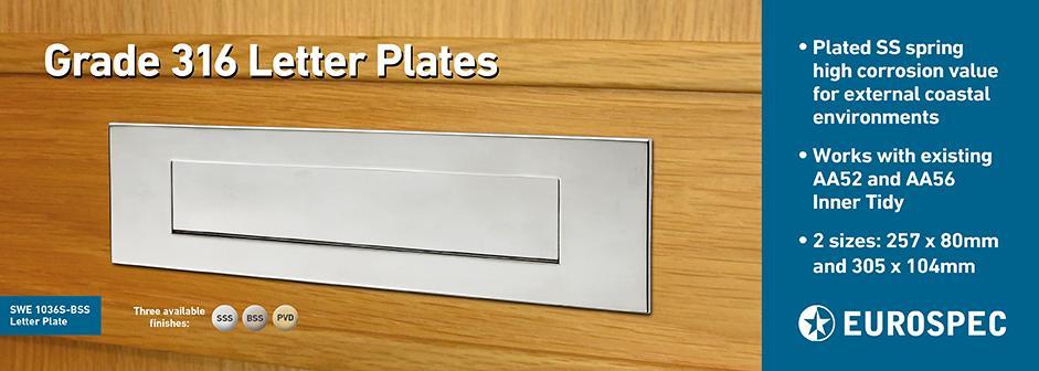 SWE Letter Plate