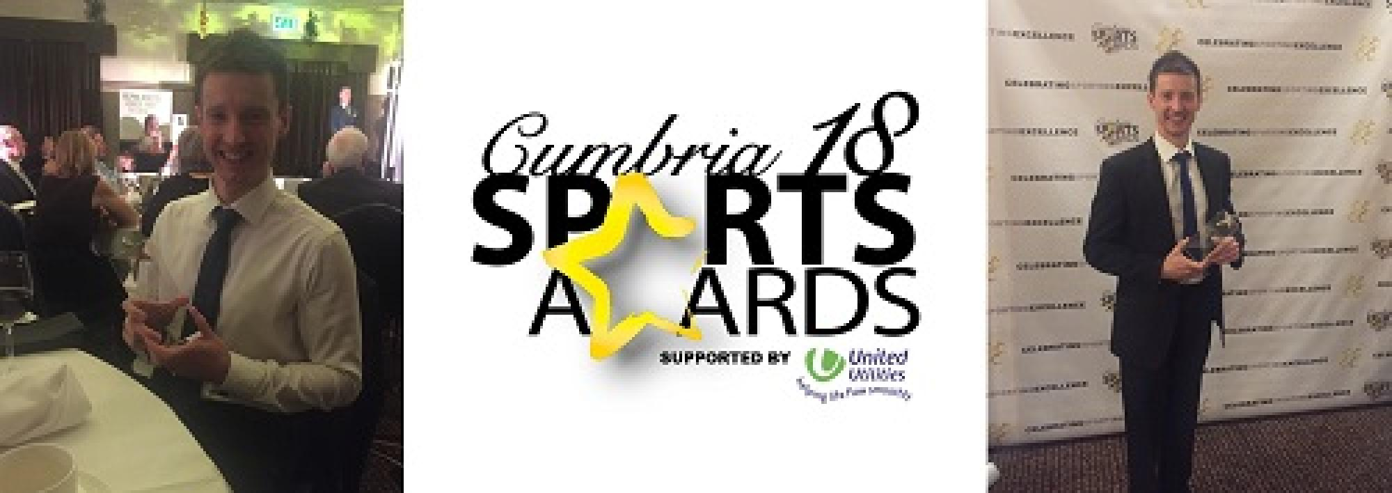 Carlisle Brass wins the Cumbria Sports Awards Active Workplace category!