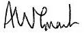 Angus Grant Signature
