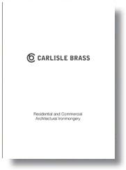 Carlisle Brass Catalogue