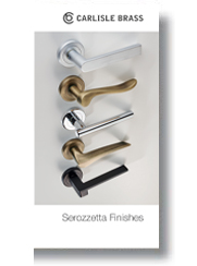 Serozzetta New Finish Leaflet
