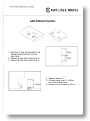Fitting Easi Keep Latch Instructions