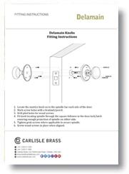 Fitting Instructions Delamain Knob